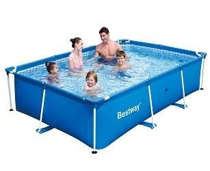 Каркасный прямоугольный бассейн Bestway 259х170х61 см
