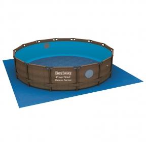 Подстилка для круглых бассейнов, 488 х 488 см