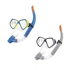 Набор для плавания Ocean, 2 предмета: маска, трубка, от 14 лет, цвет МИКС Bestway