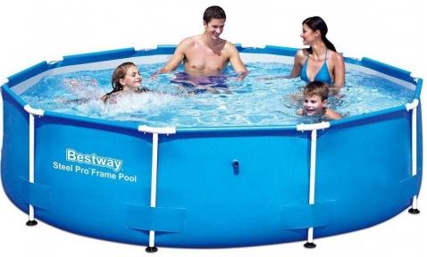 Каркасный бассейн Bestway  366х76 см, 6473л с фильтр -насосом на 1249 л/ч