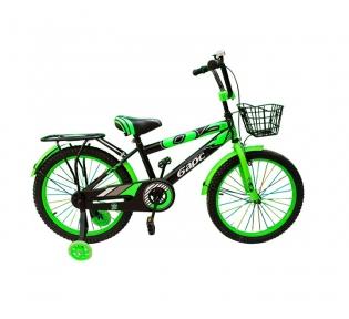 Подростковый велосипед BARS 20″- чёрно-зеленый