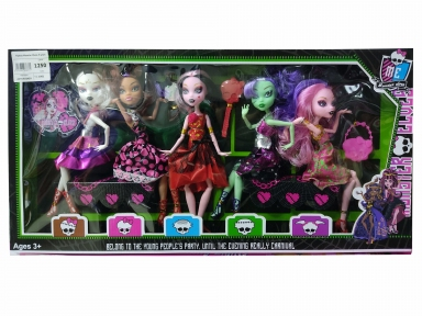 Кукла Monster Elves 5 штук