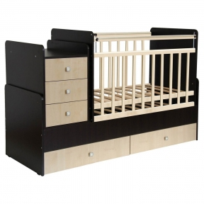 Кровать детская Фея 1100 Венге-Клен