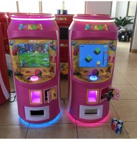 Автомат, который выдает призовые напитки.