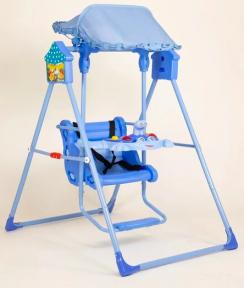Детские качели 104 (синяя)