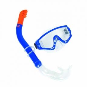 Набор для плавания Snorkelite, 2 предмета: маска, трубка, от 14 лет, цвет МИКС, (24020) Bestway