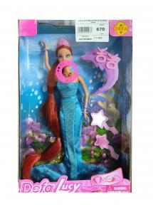 Кукла поющая русалка от Defa Lucy