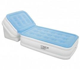 BW Надувная кровать Air Bed With Adjustable Backrest 198х84х30 см с регулируемой спинкой