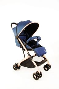Прогулочная коляска  BAOBAOHAO (синяя)