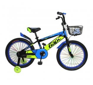 Подростковый велосипед BARS 20″- синий