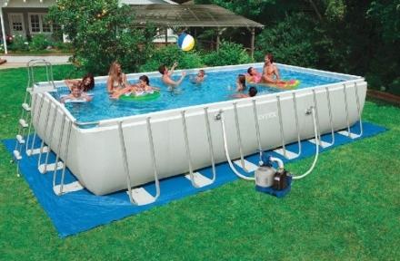 Каркасный бассейн Intex ultra frame 549х274х132см