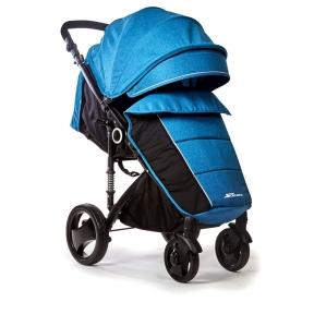 Прогулочная коляска SKILLMAX 800 (цвета: синяя, зеленая, черная)
