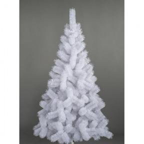 Белая пушистая декоративная елка