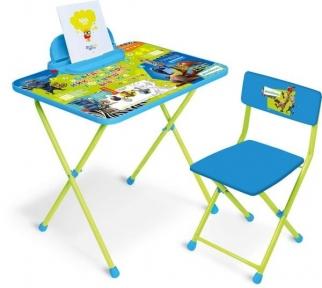 Набор детской парты со стулом