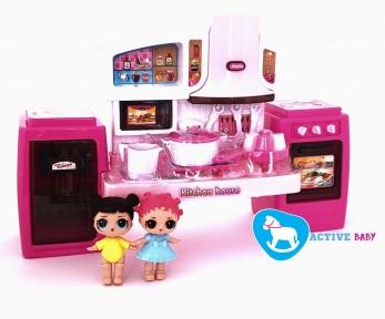 Кукла Лол с кухней в наборе