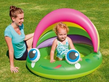 Детский бассейн Bestway с навесом от солнца