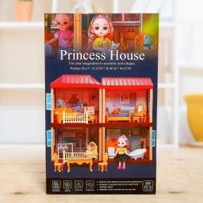 Игрушечный домик принцессы