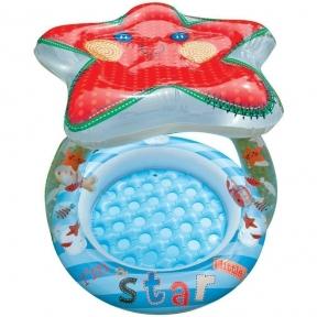 Детский надувной бассейн фирмы Intex 102Х89СМ
