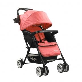 Прогулочная коляска INDIGO BRAVO (красный)
