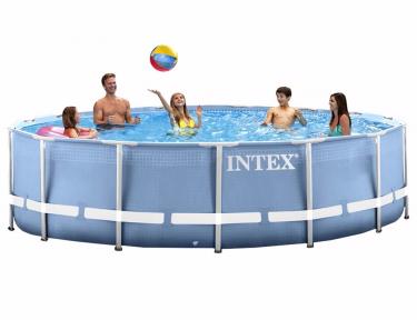 Каркасный бассейн Intex Prism Frame 457х122см