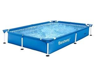 Каркасный прямоугольный бассейн Bestway  221х150х43 см