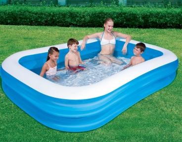 Надувной прямоугольный бассейн Bestway, 305х183х46 см