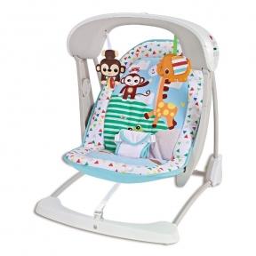 Электрокачели Fitch Baby Зоопарк