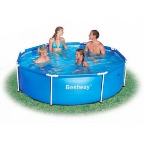 Каркасный круглый бассейн Bestway 244 Х 61 См