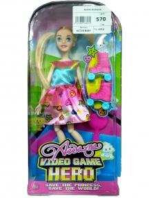 Кукла на роликовых коньках Andayna