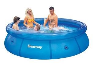 Бассейн с надувным бортом BestWay  305х76 см, 3638 л