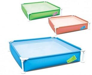 Детский каркасный бассейн Bestway 122х122х30,5 см