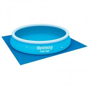 Подстилка для круглых бассейнов, 396 х 396 см