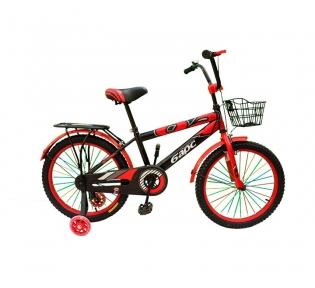Подростковый велосипед BARS 20″- чёрно-красный