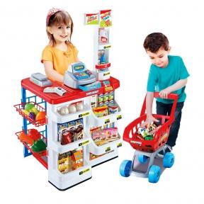 Игрушечный набор супермаркета
