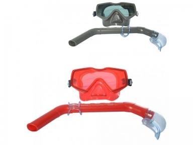 Набор для плавания Aqua Prime (маска, трубка) в ассортименте, от 14 лет