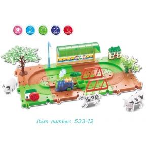 Игрушка Train blocks - ферма