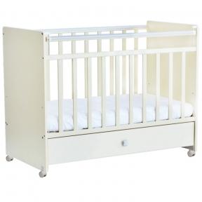 Кроватка Фея 700 детская Белая