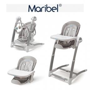 Электрокачалка + стул для кормления + стул Maribel 3 в 1