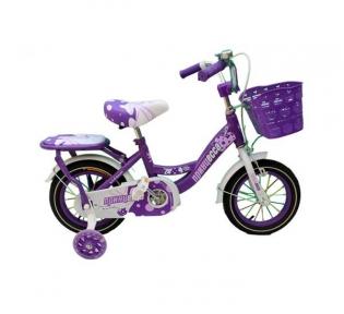 Детский двухколесный велосипед с подпорками 12'' для девочек