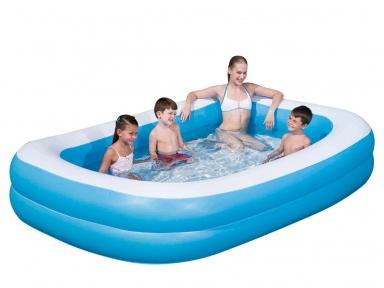 Надувной прямоугольный бассейн Bestway, 262х175х51 см