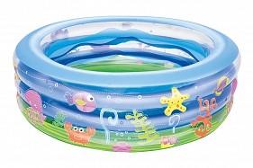 BW Детский круглый бассейн Summer Wave Crystal, 196х53 см, 700 л