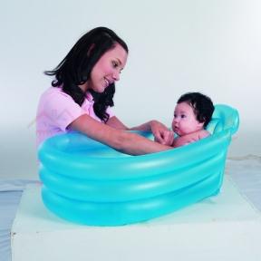 Надувной бассейн для младенцев Bestway, 79х51х33 см