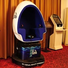 Аттракцион для детских развлекательных игровых центров и парков. 9-DVR кинотеатр