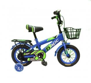 Детский двухколесный велосипед с подпорками 12''