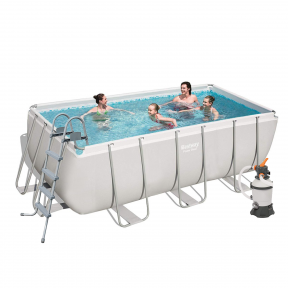 Каркасный прямоугольный бассейн Bestway 412х201х122 см
