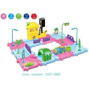 Игрушка Train blocks - станция