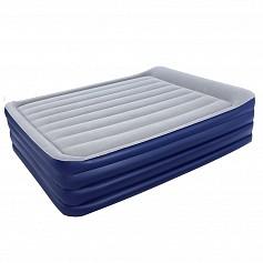 BW Надувная кровать NightRight Raised Air Bed(Queen) 203х 152х56 см со встроенным насосом