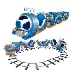 Симулятор электропоезда с рельсами. Товар под заказ