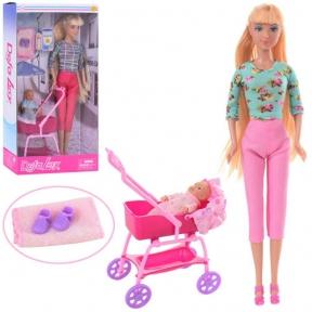 Кукла Defa Lucy с коляской и ребенком 8358