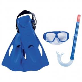 Набор для плавания Essential Freestyle(маск,труб,ласты р 37-41)в ассортименте,от 7 лет